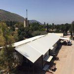 עבודות אסבסט: בית אלפא אחרי הרכבה