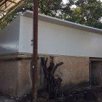 עבודות אסבסט: בית שערים אחרי החלפת גג