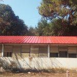 עבודות אסבסט: אילון אחרי הרכבת פנל בצבע אדום
