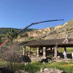 עבודות אסבסט: אתר עתיקות טבריה בזמן הרכבת איסכורית